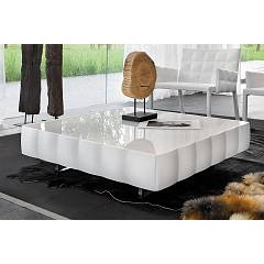 Tonin Casa Venice 8264 Wood and glass coffee table l. 110 x 110