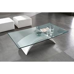 Tonin Casa Tudor 6630csv Table l. 120 x 65 with curved floor