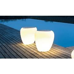 Tonin Casa Ios 8191pl Table with light l. 51 x 47