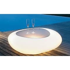 Tonin Casa Kos 8190l Fixed table with light l. 112 x 95