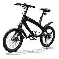 V-ita Smart Plus Solid Electric bicycle - deep black