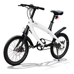 V-ita Smart Plus Solid Electric bicycle - pure white