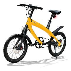V-ita Smart Plus Solid Electric bicycle - sunset yellow