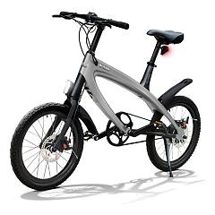 V-ita Smart Plus Solid Electric bicycle - dark still gray