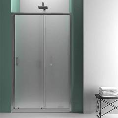 Vanita Docce Vesper190 Corner box cm. 120 x 80 extensibility cm. 117-121 x 77.5-79.5 1 sliding door h 190 + fixed side
