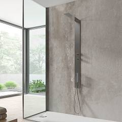 Vanita Docce Atlanta Multifunction shower column cm. 12 h 140 - inox hydrotherapy