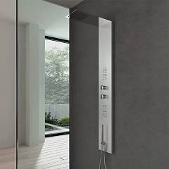 Vanita Docce Milano Multifunction shower column cm. 22 h 145 - stainless steel hydrotherapy Milano