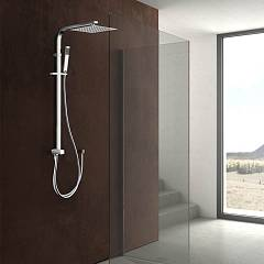 Vanita Docce Bianca Shower column h 102 - brass