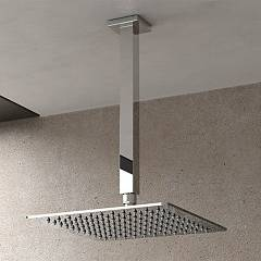 Vanita Docce Quadrato Shower head cm. 25x25 - inox thickness 4 mm