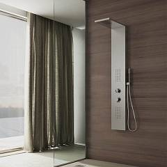 Vanita Docce Ginevra Evo Multifunction shower column cm. 22 h 148 - stainless steel waterfall and hydrotherapy Ginevra Evo