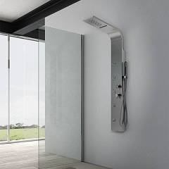 Vanita Docce Miami Evo Multifunction shower column cm. 22 h 162 - inox waterfall and hydrotherapy