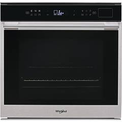 Whirlpool W7 Os4 4s1 H Built-in oven for steaming cm. 60 - black glass W Collection