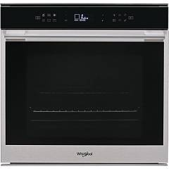 Whirlpool W7 Om4 4s1 P 60 cm pyrolytic electric oven - stainless steel and black glass W Collection