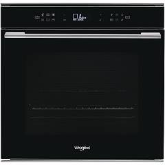 Whirlpool W7 Om4 4s1 P Bl Pyrolytic electric oven 60 cm - black W Collection