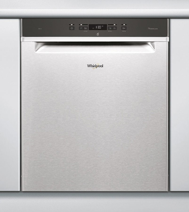 Photos 1: Whirlpool Built-in dishwasher cm. 60 14 covered WUC 3C24 P X