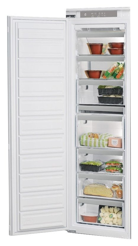 Photos 1: Whirlpool AFB 1840 Built-in vertical freezer 54 cm, 209 lt - white