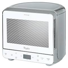 Whirlpool Max39wsl Freestanding microwave oven cm 39 h 36cm - silver