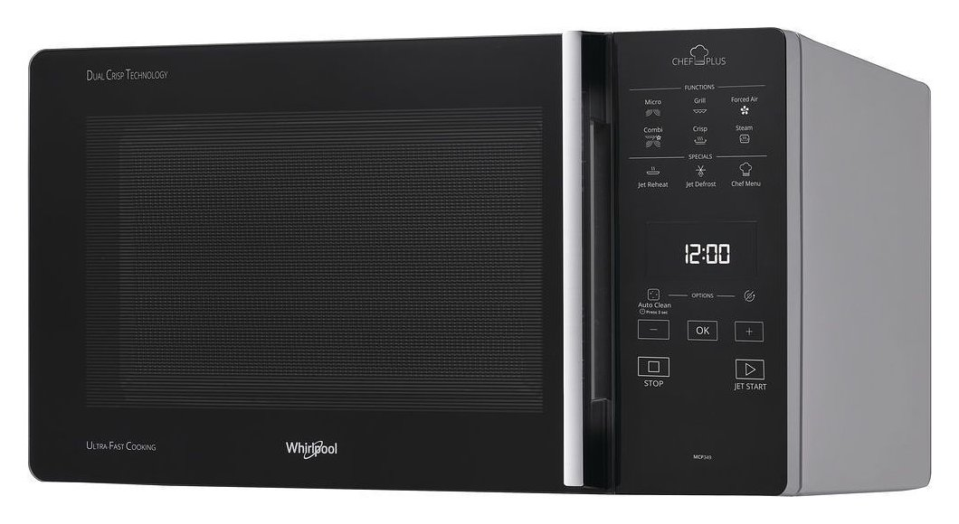 Photos 1: Whirlpool MCP349SL Free-standing microwave oven cm 52 h 30cm - silver