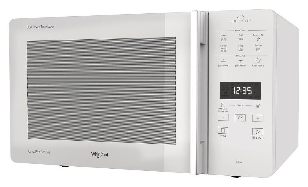 Photos 1: Whirlpool MCP349WH Freestanding microwave oven cm 52 h 30cm - white
