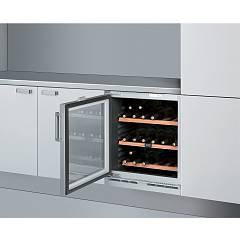 Whirlpool Arz000w-lh 60 cm built-in wine cellar 33 bottles - silver