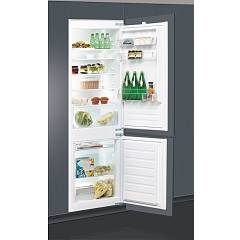Whirlpool Art6601/a+ Built-in refrigerator 54 cm h177 lt 273 liters - stainless steel