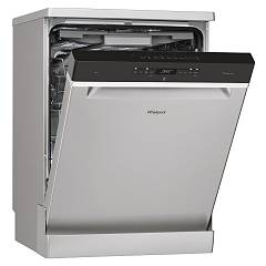 Whirlpool Wfo3t123pfx Free-standing dishwasher cm60 14 covered - stainless steel