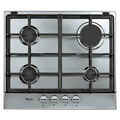 Whirlpool Akr361ix Gas fired cooking with 4 burners cm. 60 - stainless steel