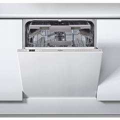 Whirlpool Weic3c26f Built-in dishwasher cm. 60 - 14 place settings - silver