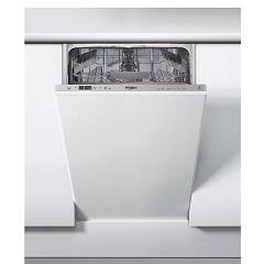 Whirlpool Wsic3m17wp Built-in dishwasher cm. 45 - 10 covered - stainless steel