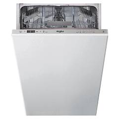Whirlpool Wsic3m27 Total integrated dishwasher cm. 45 - 10 covered