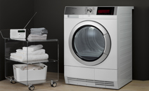 Clothes washer dryer
