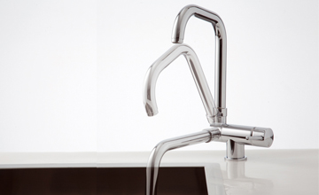 Kitchen Taps For Use In Front Of Windows